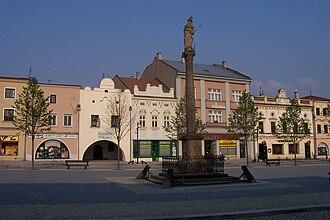 Lipník nad Bečvou - Town square