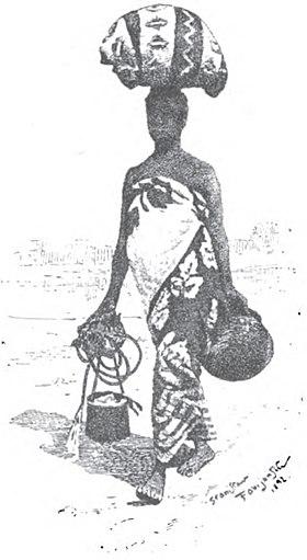 Gorące dziewczęta afrykańskie