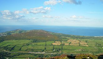 Great Sugar Loaf - Image: Little Sugar Loaf from summit of Great Sugar Loaf