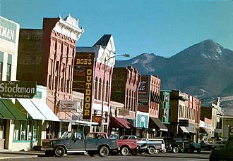 Livingston, Montana - Downtown Livingston