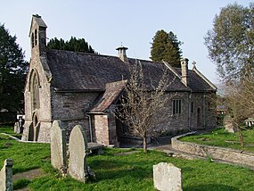 Llanfoist Church, St Faith Monmouthshire.JPG
