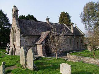 Llanfoist village in Wales