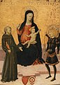 Lo Scheggia - The Madonna and Child between Saint Francis and Saint Michael.jpg