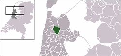 Location of 't Veld