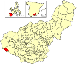 Location of Zafarraya
