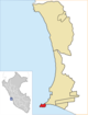 Location of the district La Punta in Callao (2).png