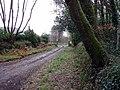 Lodge and lane to Trevethoe Barton - geograph.org.uk - 107876.jpg