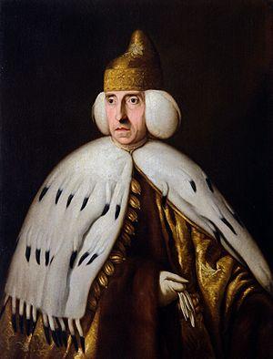 Ludovico Manin - Ludovico Manin, portrait by Bernardino Castelli