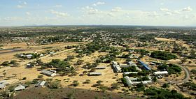 Lodwar Kenya from hill2010.JPG