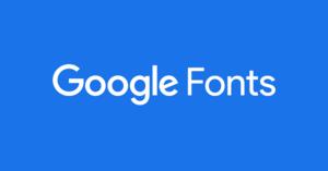 Google Fonts - Image: Logo Google Fonts color background