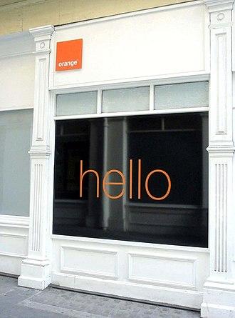 Orange UK - An Orange Shop in London, UK