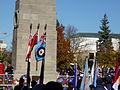 London 2010 Veterans Day Monument07.jpg