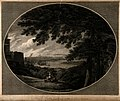 London seen from Plumstead Hill in Greenwich park. Engraving by Ellis after Hearne - Wellcome V0014668.jpg