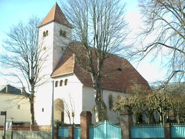 Protestant church in Longeville-lès-Metz