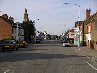 Longford, Coventry - Longford Road, Coventry (looking south)
