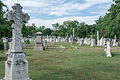 Looking W across section M - Glenwood Cemetery - 2014-09-14.jpg