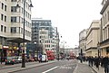 Looking west along The Strand towards Trafalgar Square (geograph 1676966).jpg