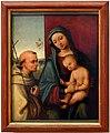 Lorenzo costa, madonna col bambino e san francesco.jpg