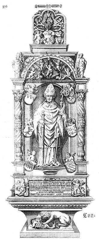 Lorenz von Bibra - Johann Octavian Salver