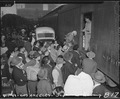 Los Angeles, California. Evacuees of Japanese ancestry entraining for Manzanar, California, 250 mil . . . - NARA - 536766.tif