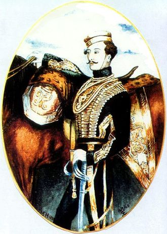 15th The King's Hussars - Louis Nolan, an officer of the 15th Hussars who gained notoriety as the bearer of the ill-fated order precipitating the Charge of the Light Brigade