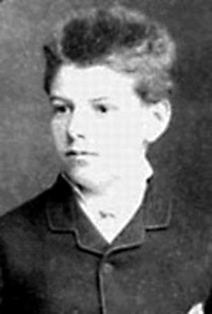 Louis Bachelier - Louis Bachelier, aged 15