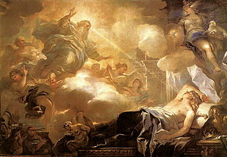 Solomon - Luca Giordano – Dream of Solomon – God promises Solomon Wisdom.