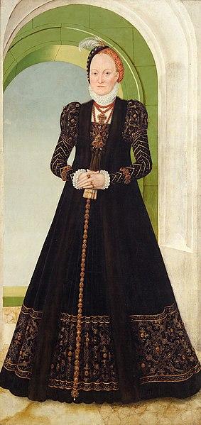 1565_Lucas Cranach dJ_Anna de Dinamarca (1532-1585