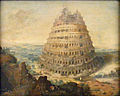 Lucas van Valkenborch-Der babylonische Turmbau.JPG