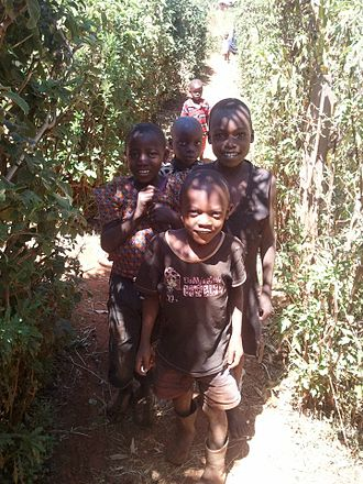 Luhya people - Luhya children