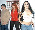 Luis Depaz, Redd Rose, Leah Lexington at Evil Angel Party 1.jpg