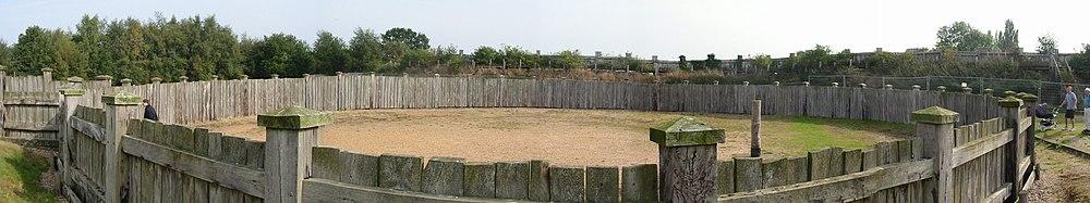 Lunt Roman Fort gyrus outside.jpg