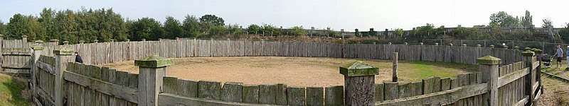 Lunt Roman Fort gyrus outside.jpg