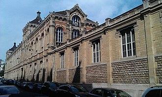 8th arrondissement of Paris - Lycée général et technologique Chaptal