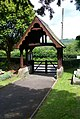 Lych gate, St. Matthew's Church, Dyffryn - geograph.org.uk - 344076.jpg