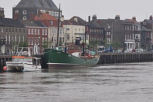 Lydia Eva (steam drifter) -  Lydia Eva at Great Yarmouth