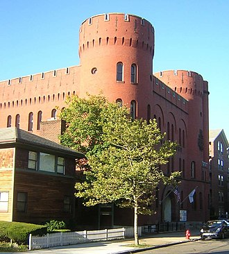 National Register of Historic Places listings in Lynn, Massachusetts - Image: Lynn Armory MA