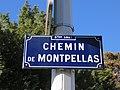 Lyon 9e - Chemin de Montpellas - Plaque (fév 2019).jpg