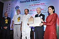 M. Veerappa Moily gave away the PetroFed Awards 2012, at the PetroFed Oil & Gas Industry Awards Ceremony, in New Delhi. The Secretary, Ministry of Petroleum & Natural Gas, Shri Vivek Rae and the Chairman (1).jpg