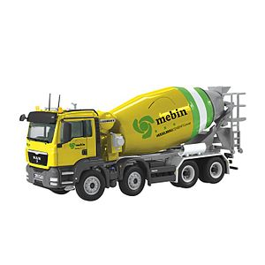 NZG Models - An NZG Man cement mixing truck.