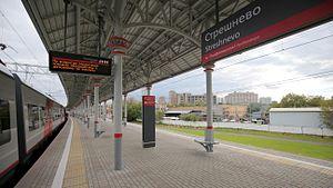 Streshnevo (Moscow Central Circle) - Image: MCC Streshnevo