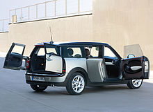 mini clubman wikip dia. Black Bedroom Furniture Sets. Home Design Ideas