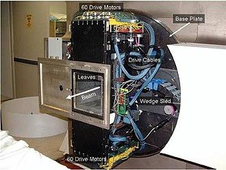 Fast neutron therapy - Image: MLC 2