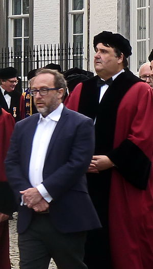 Martin Paul (professor) - Jimmy Wales and Martin Paul in 2015