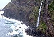 Madeira nordküste wasserfall brautschleier 5-2007