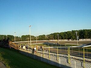 Madison International Speedway - Image: Madison International Speedway Turns 3 4in 2009
