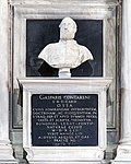 Madonna dell'Orto (Venice) - Chapel Contarini - Gasparo Contarini (1483-1542) by Danese Cattaneo (ca 1563).jpg