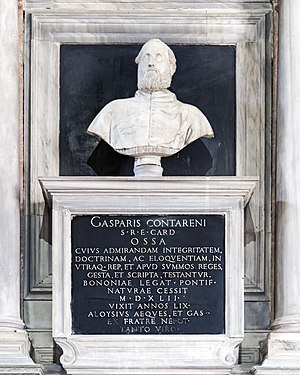 Gasparo Contarini - His tomb in the church of the Madonna dell'Orto