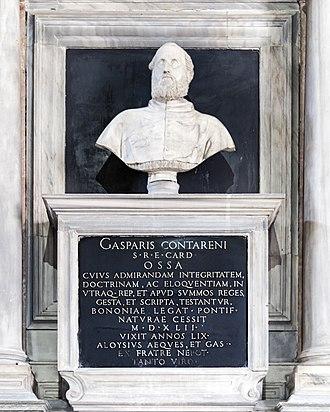 Gasparo Contarini - His tomb in the church of the Madonna dell'Orto