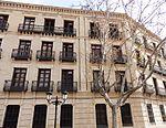 Casa en la calle Madre Rafols, 8. Amparo Poch vivió en esta casa desde 1916. En una habitación interior estableció su consulta médica en 1929.